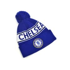 Chelsea Text Knitted Bobble Hat Royal